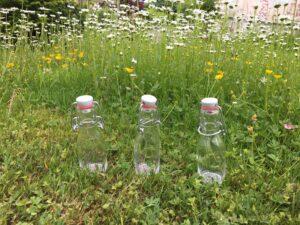 Flaschenpost für den Täufling